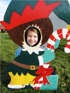 "Becca as an ""Elf"" 