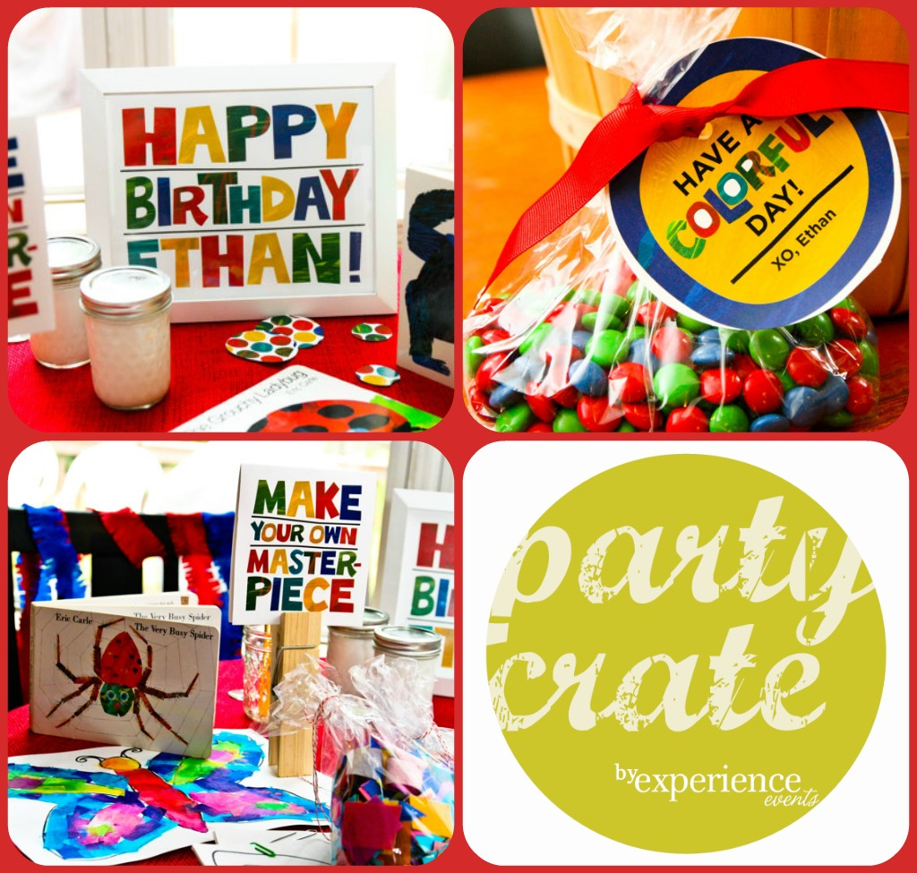 Party Crate - Eric Carle Birthday Party