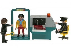 Airport Security Playmobil Toy | Traveling with Kids