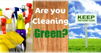 Cleaning Green | Saratoga Health