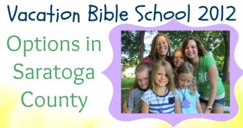 Saratoga County | Vacation Bible School Options | 2012