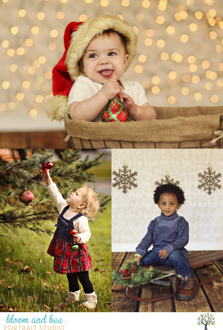 Bloom and Bee Portrait Studio Holiday Session Giveaway
