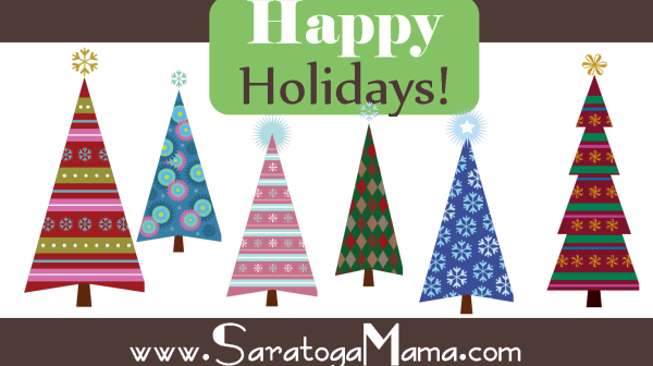 Happy Holidays from SaratogaMama