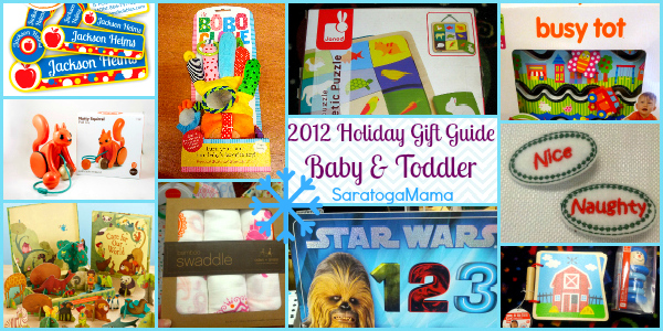 Holiday Gift Guide 2012 Baby and Toddler