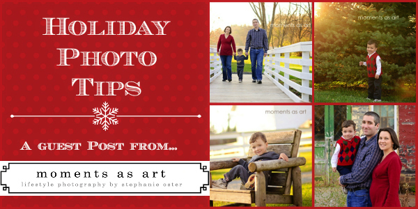 5 Tips for Better Holiday Photos