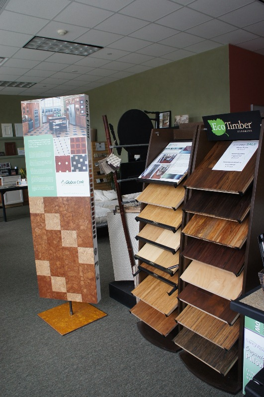 Non-toxic flooring at Green Conscience