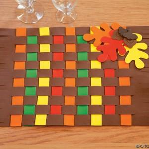 Thanksgiving Crafts for Kids Placemat
