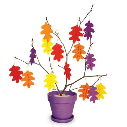 Thanksgiving Crafts for Kids Thankful Tree