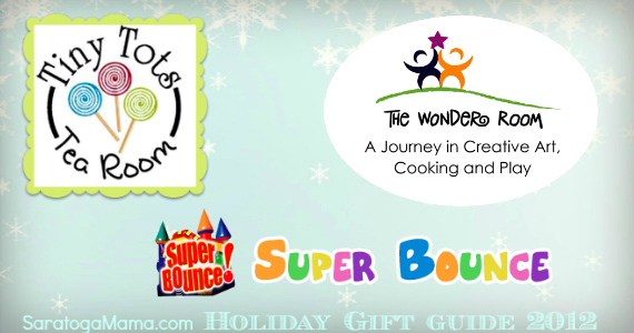 Tiny Tots Tea Room or The Wonder Room gift cards