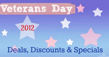 Veterans Day Deals 2012