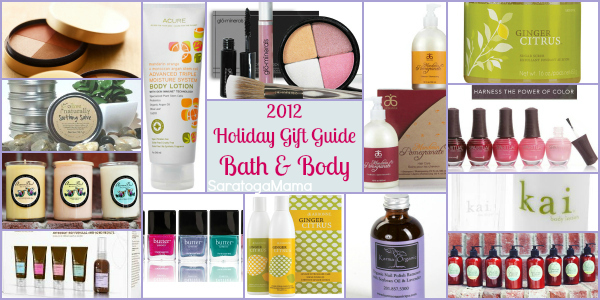 Holiday Gift Guide 2012 Bath and Body