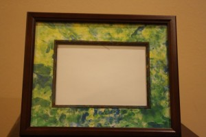 Easy Homemade Gifts - Photo Frame