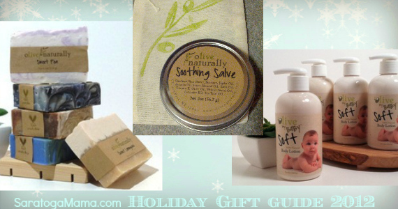Olive Naturally Soap Soothing Salve and Baby Lotion