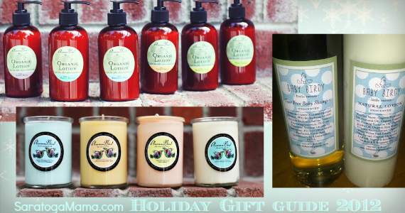Robyn Originals Organic Lotion, Soy Candles and Baby Birdy