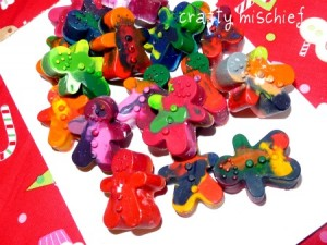 Easy Handmade Gifts - Recycled Crayons