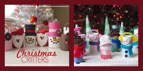 Easy Handmade Gifts - Toilet Paper Roll Crafts
