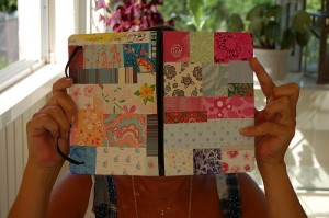 Easy Homemade Gifts - Paper Patch Notebook