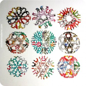 Easy Handmade Gifts - Snowflakes