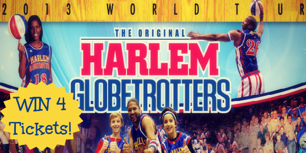 Harlem Globetrotters 2013 Win Tickets