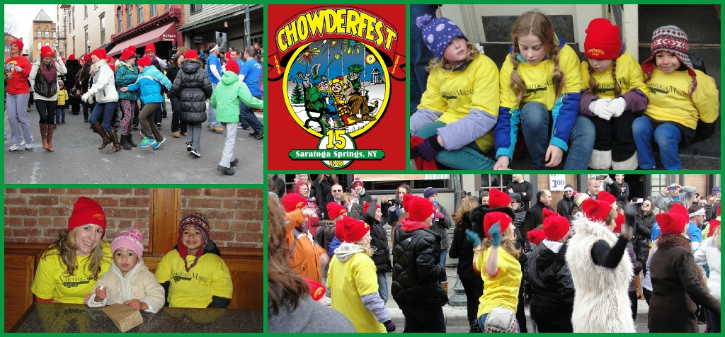 Saratoga Chowderfest Flash Mob 2013