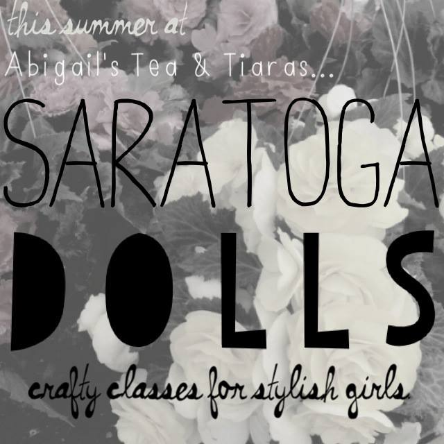 Saratoga Dolls at Abigails Tea and Tiaras