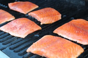 Grilled Salmon Photo by Jodi Fitz