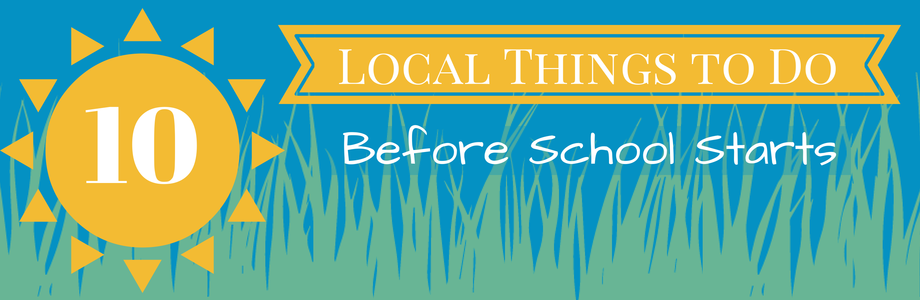 10 Things to Do in Saratoga County Before School Starts!