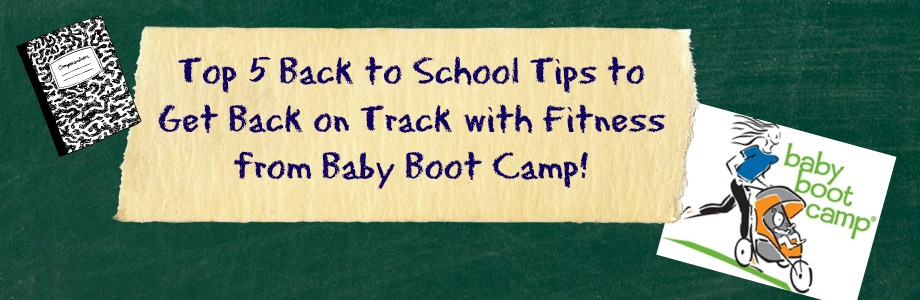 Back to Fitness from Baby Boot Camp!