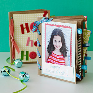 Create a scrapbook of summer memories. Find directions in the Homemade Gifts post!