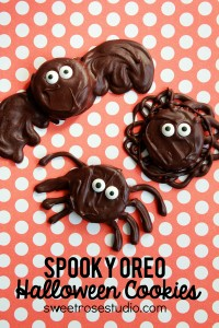 Spooky Oreo Halloween Cookies from Sweet Rose Studio