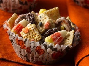 Halloween Chex Mix from Betty Crocker