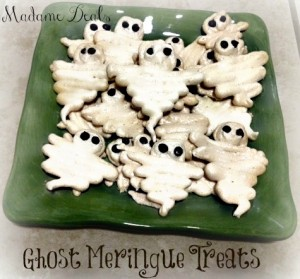 Ghost Meringue Cookies from Madame Deals