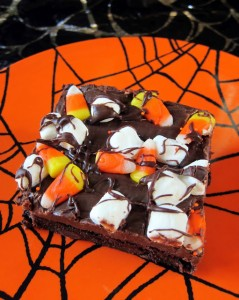 Haunted Road Brownies from Plain Chicken