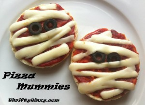 Pizza Mummies from Thrifty Jinxy