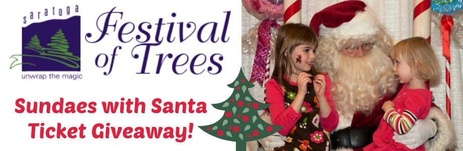 Family Day at the 2014 Saratoga Festival of Trees Plus Giveaway!