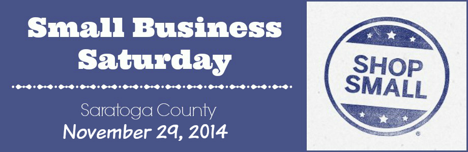 Small Business Saturday in Saratoga County
