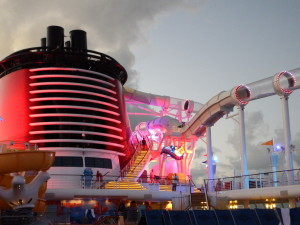 The Aquaduct on the Disney Fantasy
