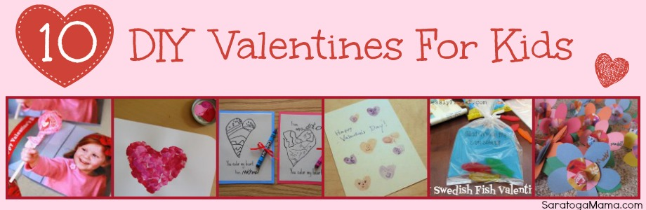 DIY Valentines For Kids