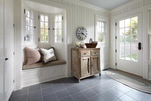 Mudroom Window Seat