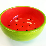 Mini Monets: Watermelon Bowls @ Arts and Glass  | New York | United States