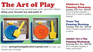 Children's Painting Workshop with Jennifer Maher @ Spring Street Gallery | Saratoga Springs | New York | United States