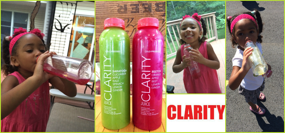 Clarity Juice Collage