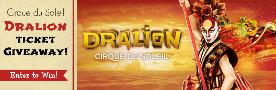 Dralion Ticket Giveaway