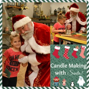 Santa! Candle making with Santa claus! @ The Candle Collective | Ballston Spa | New York | United States