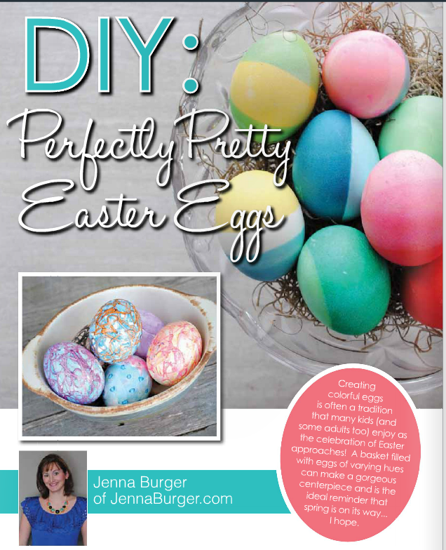 Pretty DIY Easter Eggs