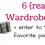 6 (Sad but True) Wardrobe Essentials for Moms