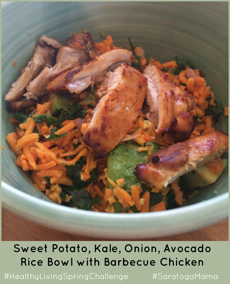 Sweet Potato Rice Bowl
