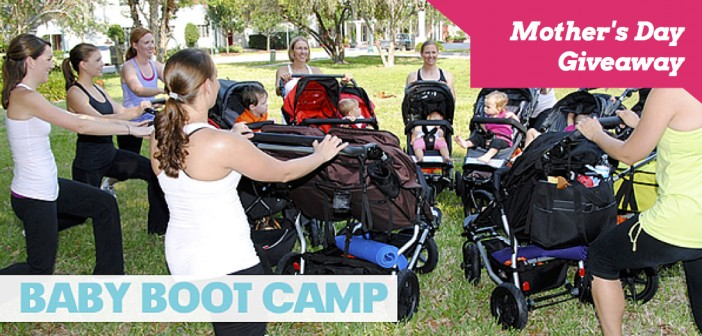 Mother's Day Giveaway: One Free Month of Baby Boot Camp