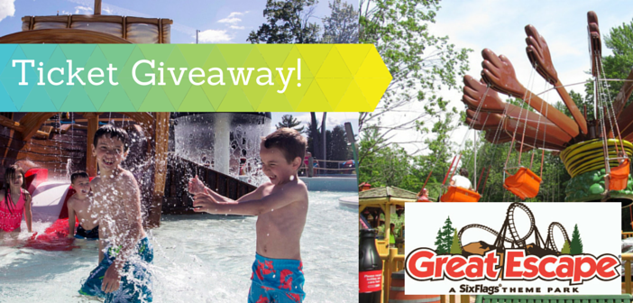 Great Escape Splashwater Kingdom Family Four Pack Giveaway!