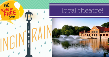 GE Kids in FREE:  Singin' in the Rain at Park Playhouse